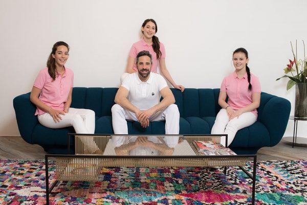 Team der Zahnarztpraxis Quidenus in Wien